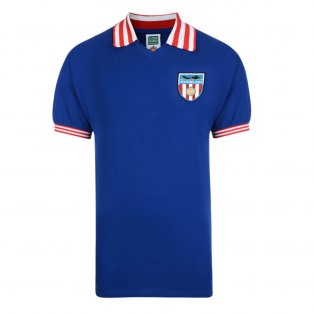 Score Draw Sunderland 1978 Away Retro Football Shirt