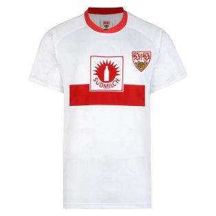 Score Draw Vfb Stuttgart 1989 UEFA Cup Final Retro Football Shirt