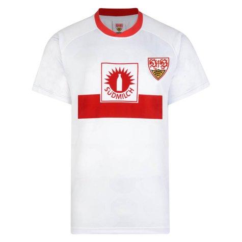 Score Draw Vfb Stuttgart 1989 UEFA Cup Final Retro Football Shirt