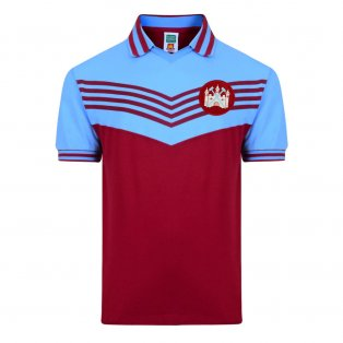 Score Draw West Ham United 1976 Retro Football Shirt