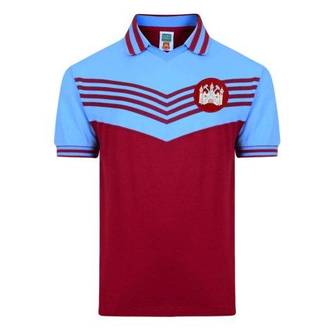 Score Draw West Ham United 1976 Retro Football Shirt