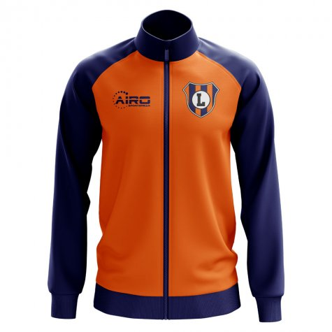 Luton Concept Football Track Jacket (Orange)