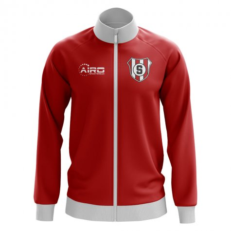 Stuttgart Concept Football Track Jacket (Red)