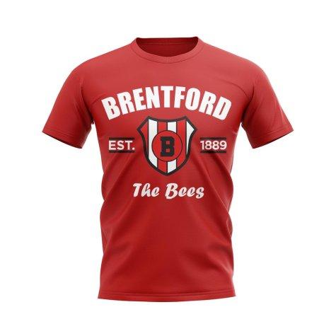 Brentford Established Football T-Shirt (Red)