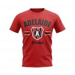 Adelaide Established Football T-Shirt (Red)