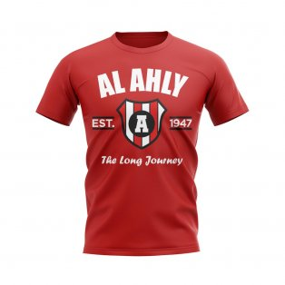 Al Ahly Established Football T-Shirt (Red)