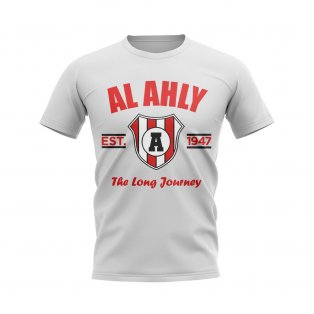 Al Ahly Established Football T-Shirt (White)