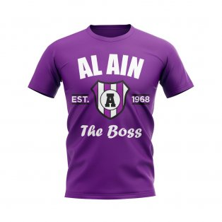 Al Ain Established Football T-Shirt (Purple)