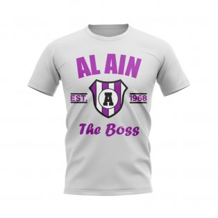 Al Ain Established Football T-Shirt (White)