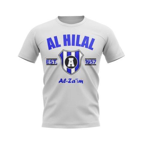 Al Hilal Established Football T-Shirt (White)