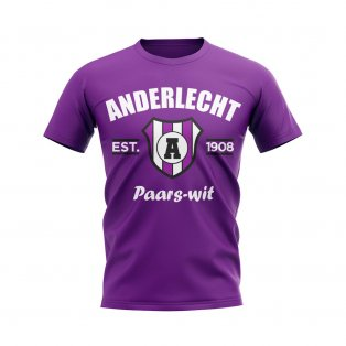 Anderlecht Established Football T-Shirt (Purple)