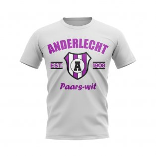 Anderlecht Established Football T-Shirt (White)