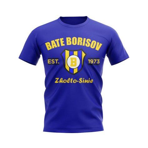Bate Borisov Established Football T-Shirt (Blue)