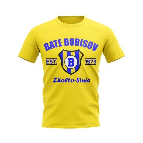 Bate Borisov Established Football T-Shirt (Yellow)