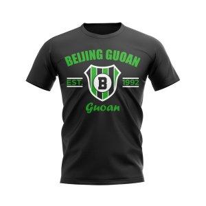 Beijing Guoan Established Football T-Shirt (Black)