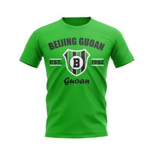 Beijing Guoan Established Football T-Shirt (Green)