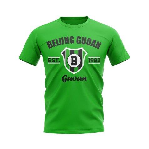 Beijing Guoan Established Football T-Shirt (Green)