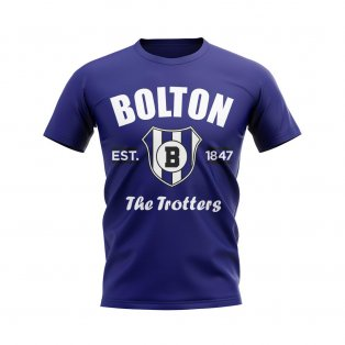 Bolton Established Football T-Shirt (Navy)
