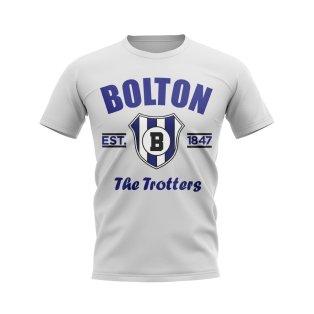 Bolton Established Football T-Shirt (White)