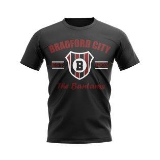 Bradford Established Football T-Shirt (Black)