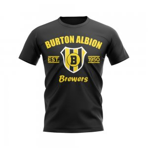 Burton Albion Established Football T-Shirt (Black)