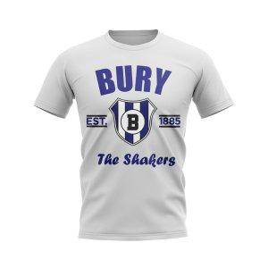 Bury Established Football T-Shirt (White)