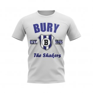 Bury Established Football T-Shirt (White)
