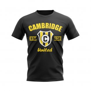 Cambridge Established Football T-Shirt (Black)