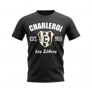 Charleroi Established Football T-Shirt (Black)