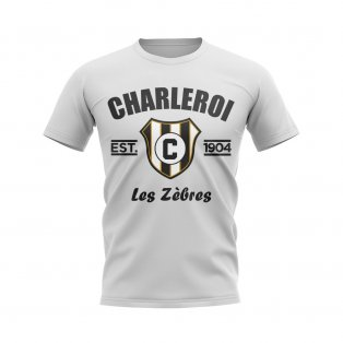 Charleroi Established Football T-Shirt (White)