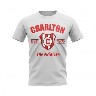 Charlton Established Football T-Shirt (White)