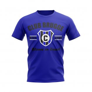 Club Brugge Established Football T-Shirt (Blue)