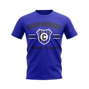 Club Brugge Established Football T-Shirt (Blue)