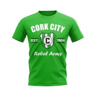 Cork City Established Football T-Shirt (Green)
