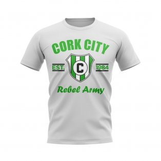 Cork City Established Football T-Shirt (White)