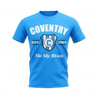 Coventry Established Football T-Shirt (Sky)
