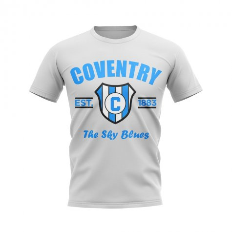 Coventry Established Football T-Shirt (White)