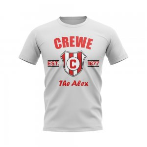 Crewe Established Football T-Shirt (White)