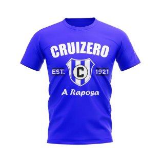 Cruizero Established Football T-Shirt (Blue)