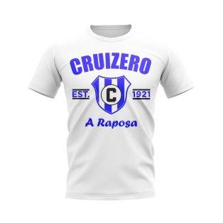 Cruizero Established Football T-Shirt (White)