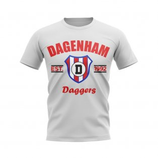 Dagenham Established Football T-Shirt (White)