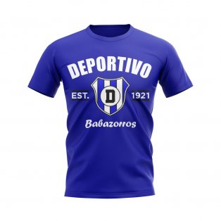 Deportivo Alaves Established Football T-Shirt (Blue)