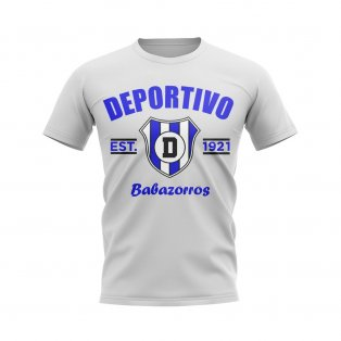 Deportivo Alaves Established Football T-Shirt (White)
