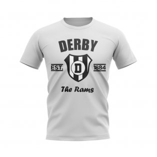 Derby Established Football T-Shirt (White)