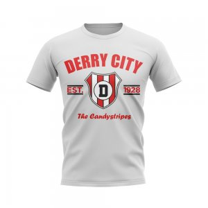 Derry City Established Football T-Shirt (White)