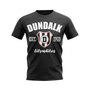 Dundalk Established Football T-Shirt (Black)