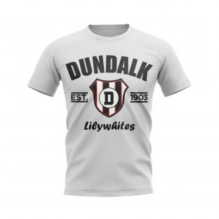 Dundalk Established Football T-Shirt (White)