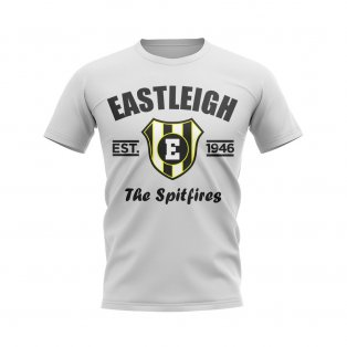 Eastleigh Established Football T-Shirt (White)