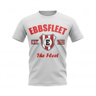 Ebbsfleet Established Football T-Shirt (White)