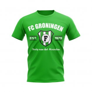 FC Groningen Established Football T-Shirt (Green)